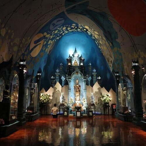 曼谷藏在象肚里的博物館---三頭神象博物館